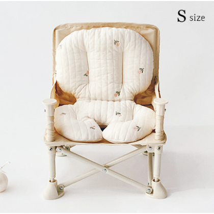 Embroidery Quilted Chair Liner 婴儿餐椅纯棉坐垫