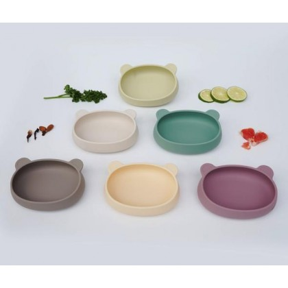 Silicone Bear Plate