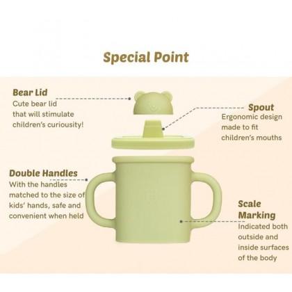 Silicon Bear Spout Cup